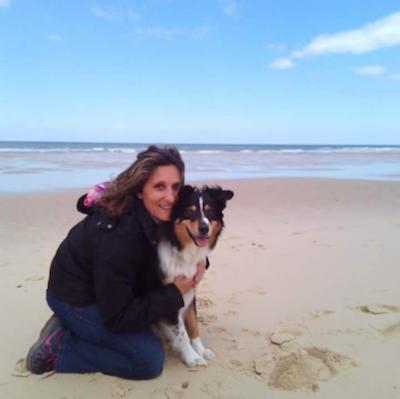 Laure et Joalia sur la plage
