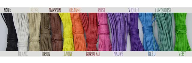 corde couleur