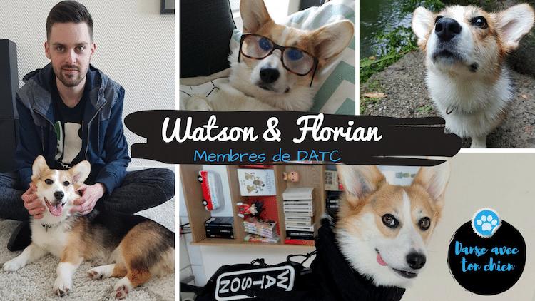 Florian & Watson, Le Corgi qui danse!