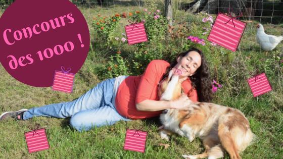 concours des 1000 membres facebook de danse avec ton chien