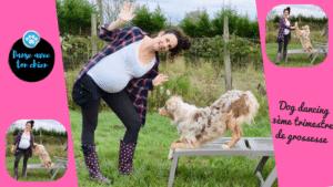 grossesse et dog dancing