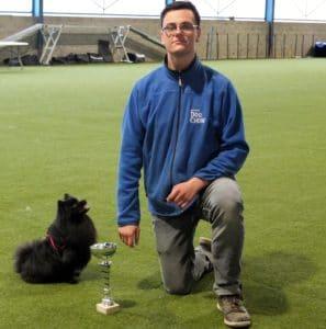Jonathan et Inna, membres de Danse avec ton chien