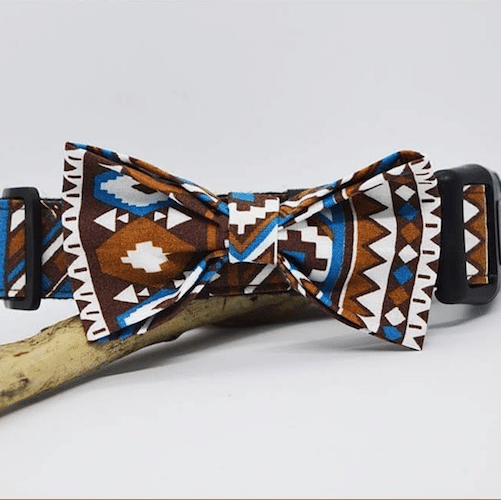collier et noeud papillon cherokee peeweepaw