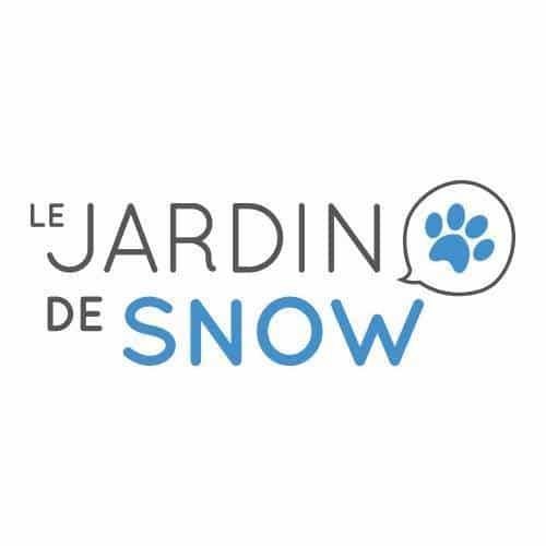logo jardin de snow