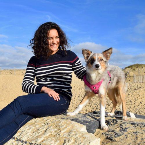 Juliette et Chelsea, educatrice positive de Danse avec ton chien