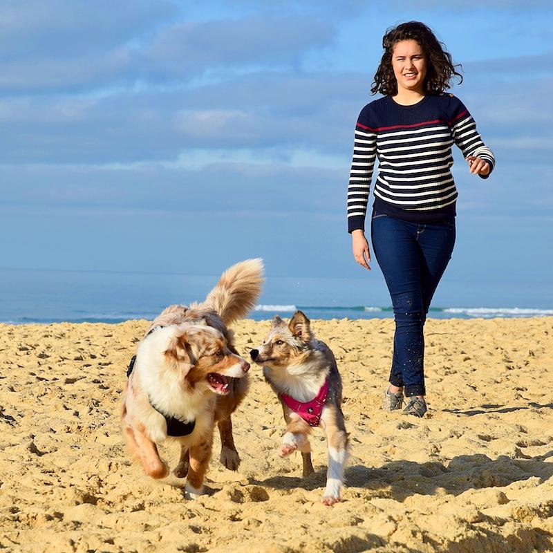 Juliette Boidin co auteur de Commencer le dog dancing avec Danse avec ton chien