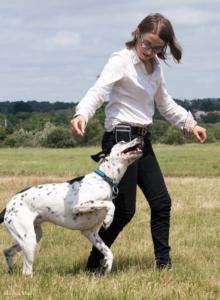Sophie et Jager les dog dancer