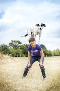 Sophi Bourdon, competitrice Dog dancin