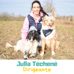 Julia Téchené, dirigeante de DATC