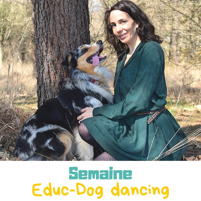 semaine touristique et dog dancing dans les landes